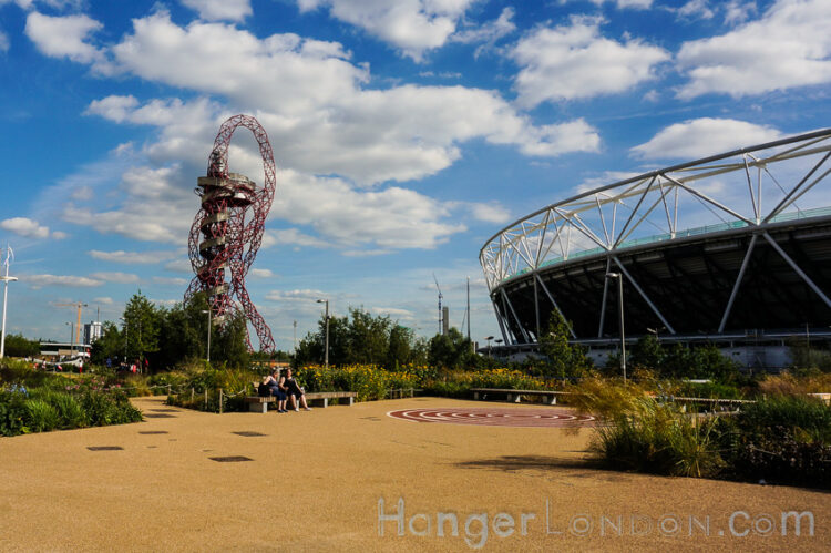 Olympic Park Stratford East London