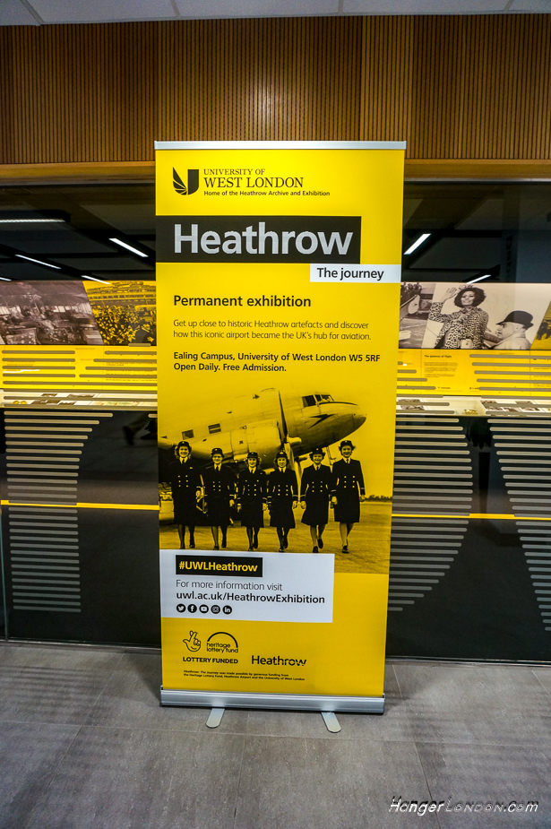Heathrow an Exhibition - 1929 The Great West Aerodrome University West London 1