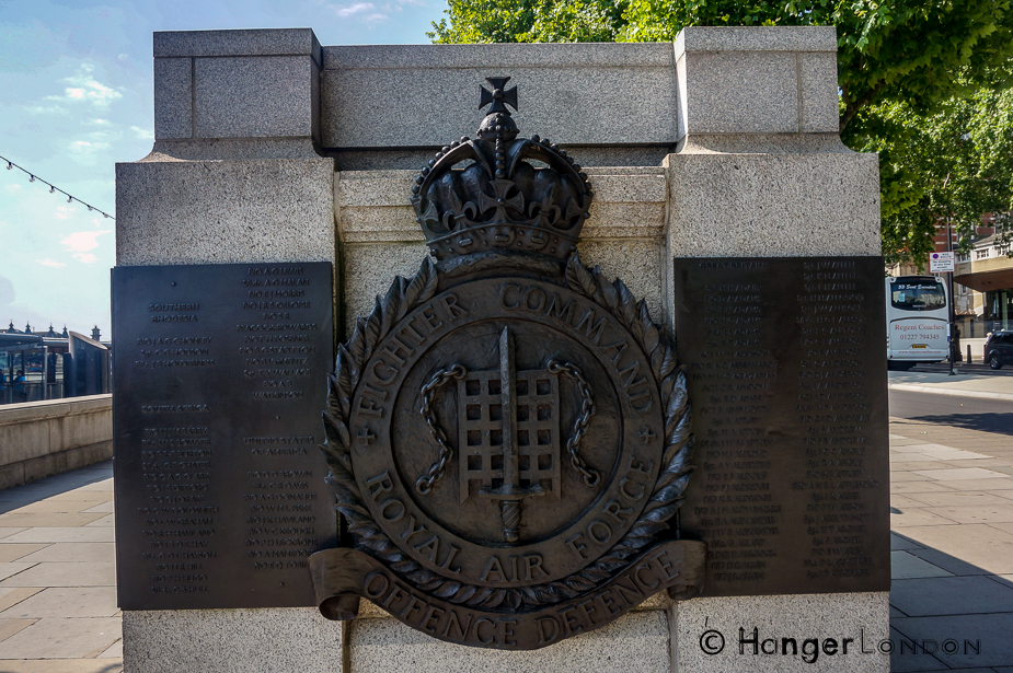 15th September 1940 Battle of Britain Day and the Impressive Battle of Britain Monument, Victoria Embankment 1