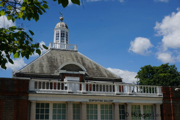 The Serpentine Gallery, Hyde Park London
