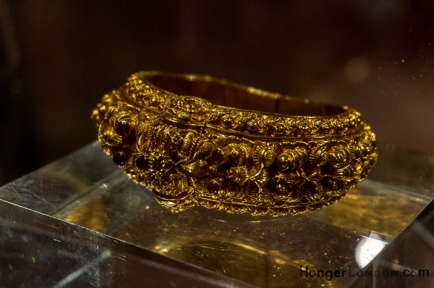 Gold Bracelet Empire of the Sikhs Exhibition Brunei Gallery