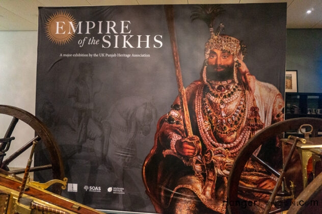 Empire of the Sikhs Exhibition -Brunei Gallery
