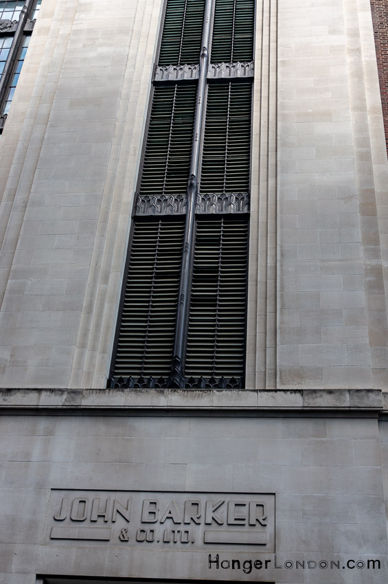 Side of Barkers department store