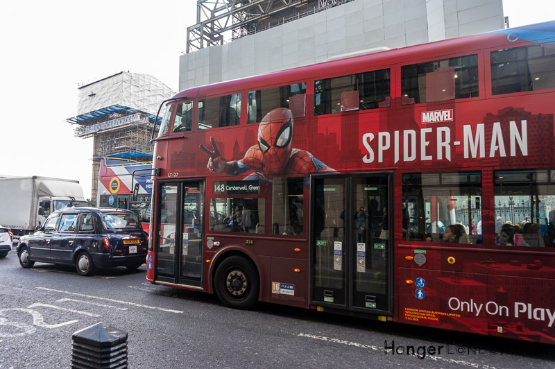 Spiderman design Bus 148 London