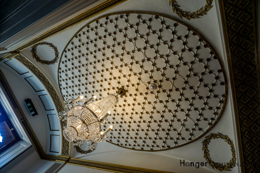 Ceiling Gunnersbury Park Museum inside the house