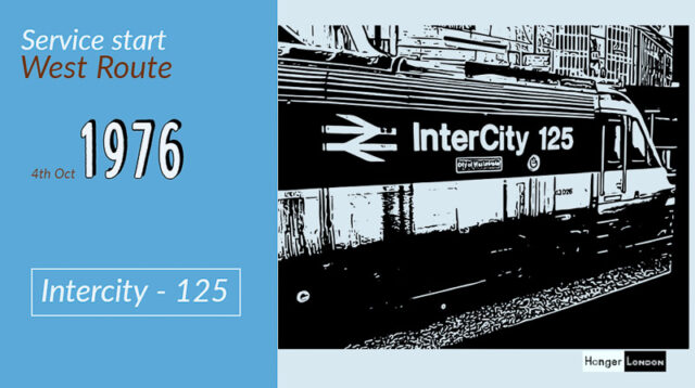 Inter city 125 train