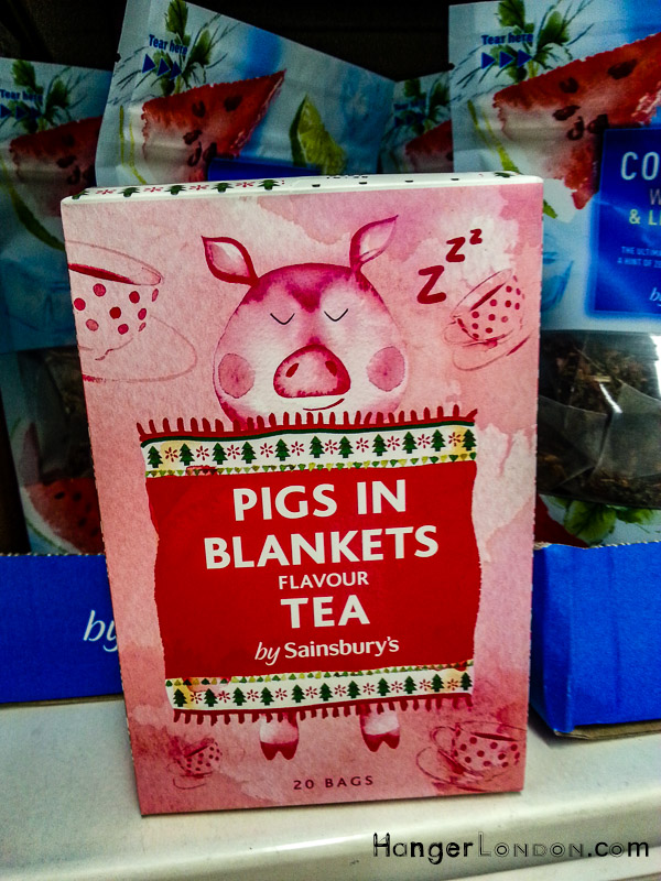Pigs in Blankets Themed Tea bags Sainsbury