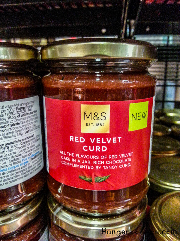 Red Velvet Curd Jar Marks and Spencers