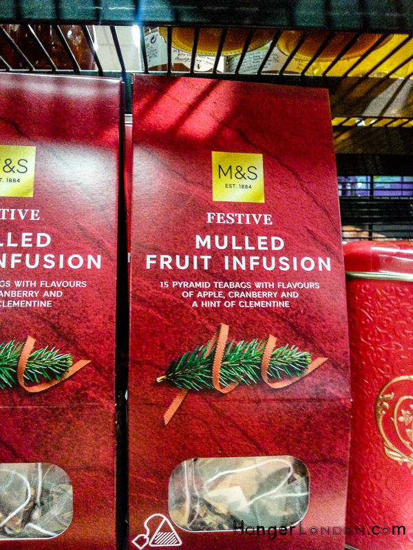 Mulled Fruit Infusion tea Marks and Spencer