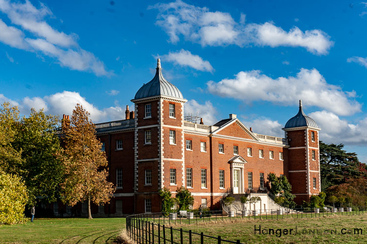Osterley House view from the back gardens