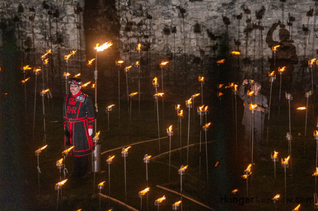 10 Thousand flames Tower of London - Remembrance End of World War One 6