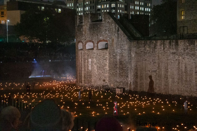 10 Thousand flames Tower of London - Remembrance End of World War One 4