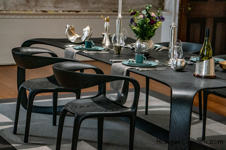 Table and Chairs by TOM VAUGHAN for OBJECT STUDIO