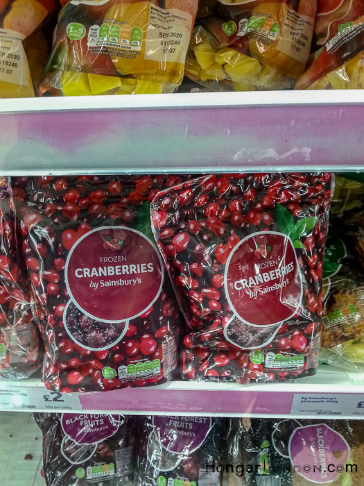 Frozen Cranberries Sainsbury's