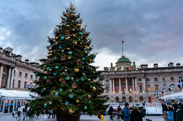 Somerset House Ice Skating Rink Christmas
