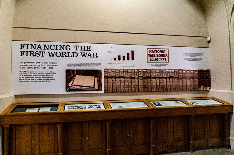 Bank of England Museum Financing the First World War