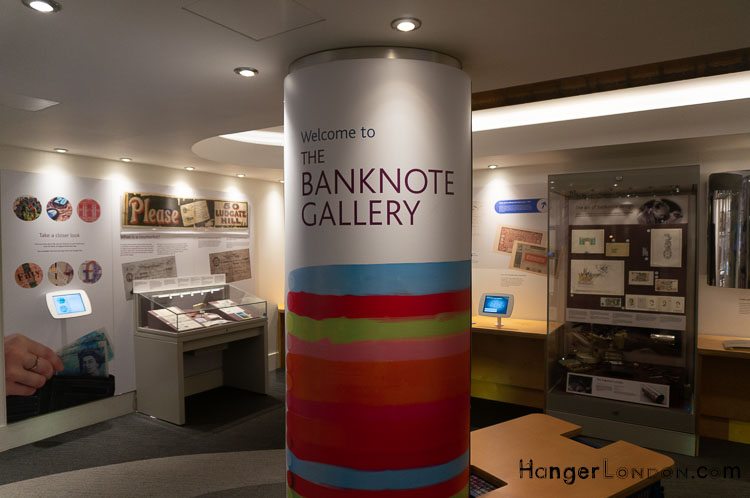 BankNote Gallery Bank of England Museum