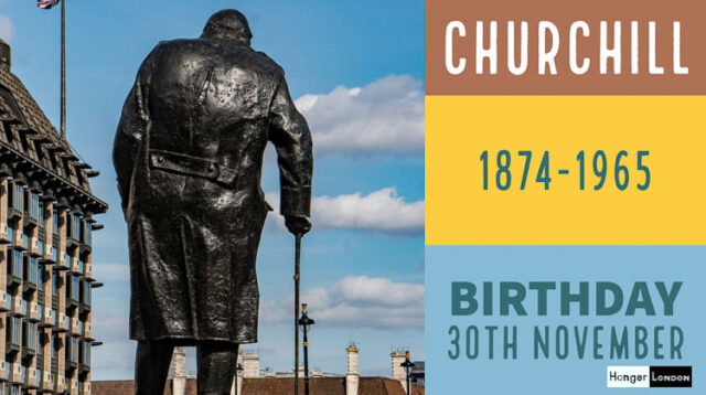 Winston Churchill Born 1874, 30th November