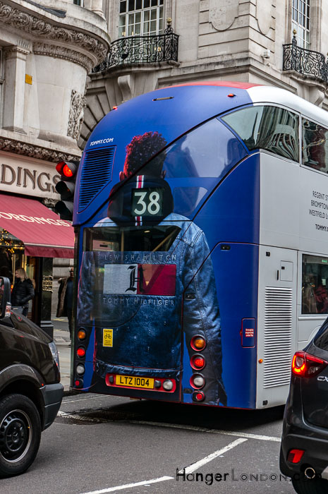 Tommy Hilfiger Lewis Hamilton London Bus 38