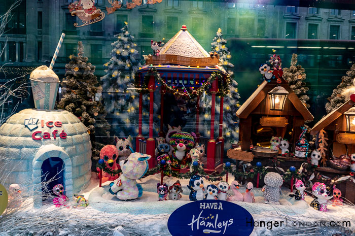 Hamleys Toy Shop Christmas Window Regent Street London