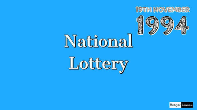 National Lottery Starts