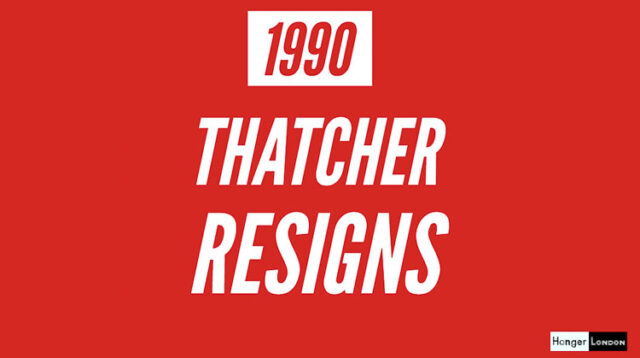 Thatcher Resigns