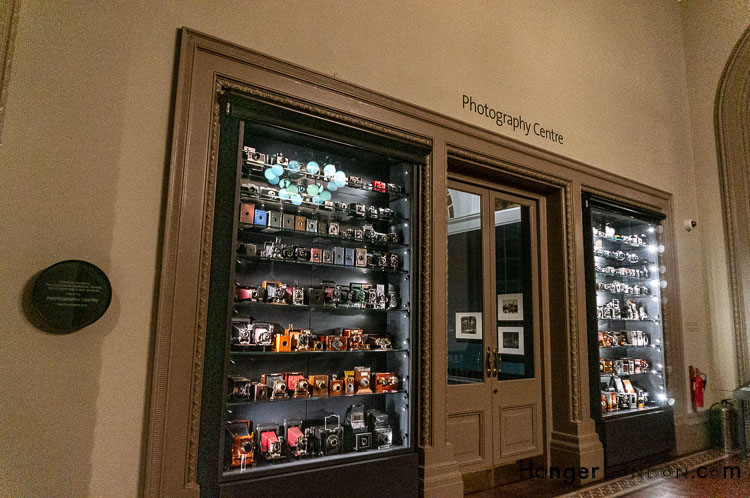 Photography centre gallery Victoria and Albert Museum Late night Friday collection of cameras