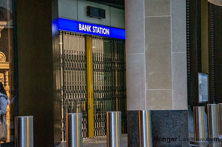 Bank station Walbrook new entrance November 2018 official opening dec 12th 2018