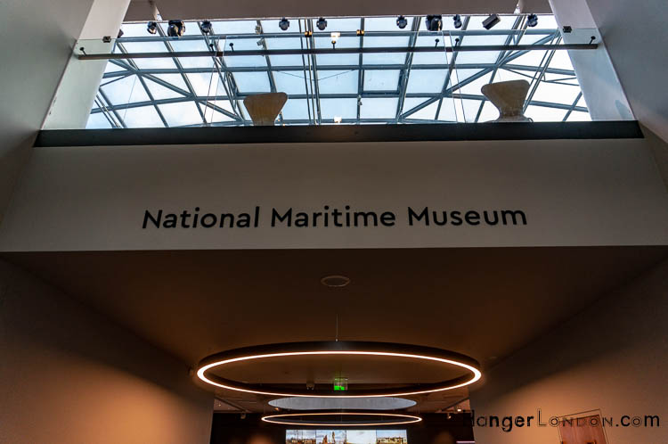 National Maritime Museum Green wich Interior Entrance