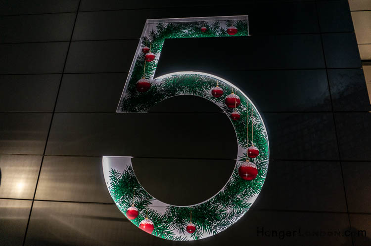 5 broadgate christmas adorn their door number