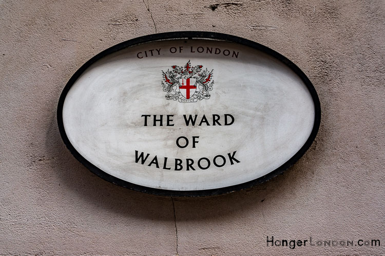 The Ward of Walbrook, City of London