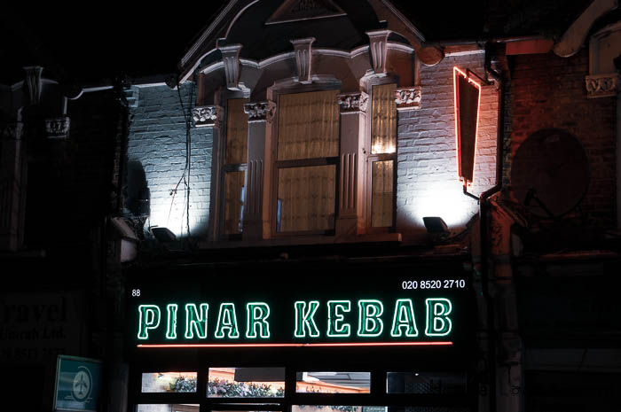 Kebab food outlet