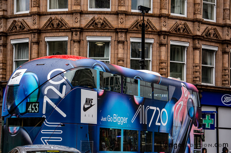 Nike Bus All Bus TFL Advert