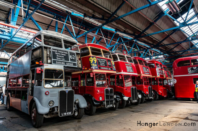 40 years since the legendary RT and RF buses left the streets of London 1