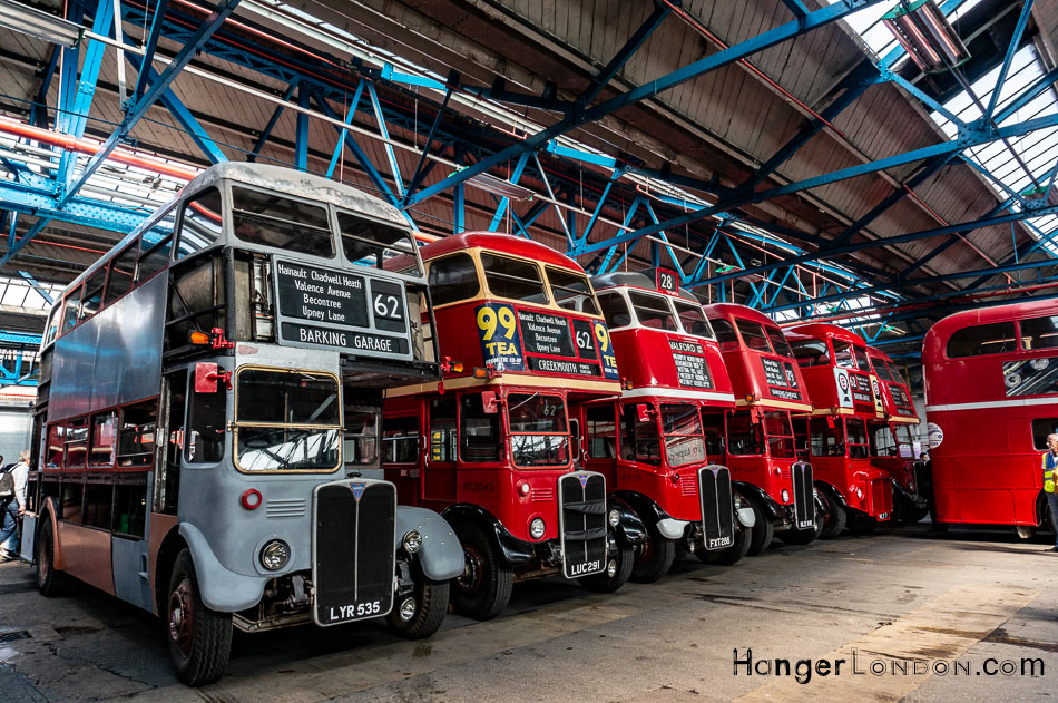 40 years since the legendary RT and RF buses left the streets of London 2
