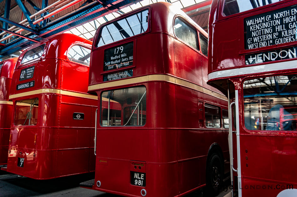 rear of a Vintage RT bus