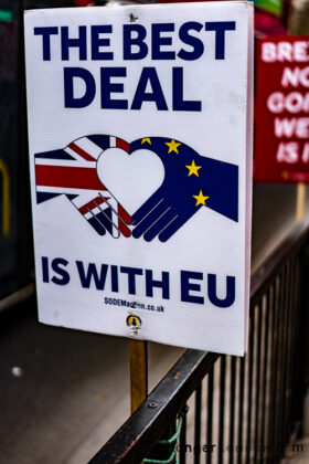 Deal is with the EU poster - brexit