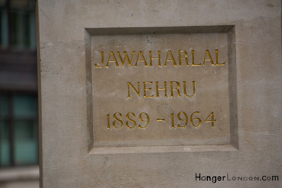 Text of statue - Jawaharlal Nehru