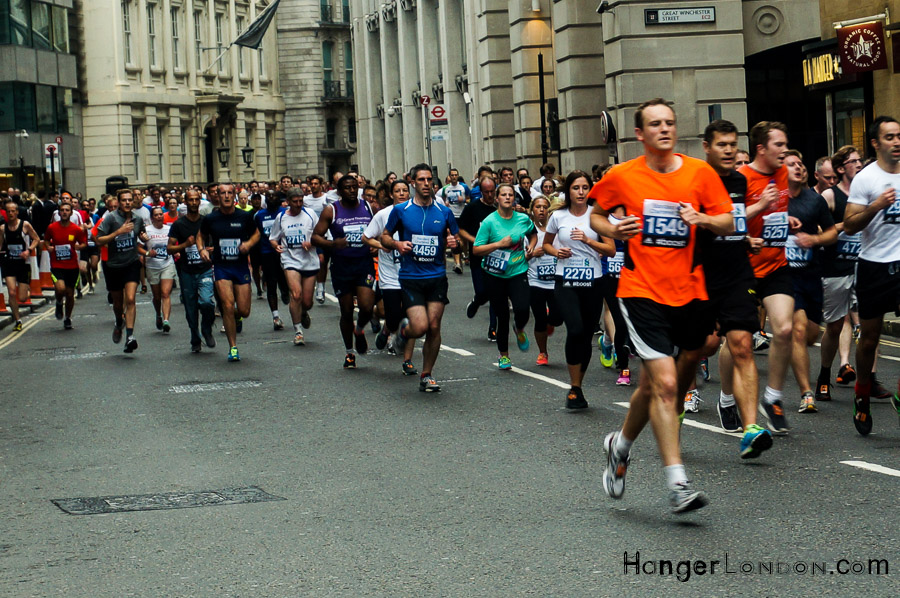 On April 28th 2019 runners take part in the London Marathon