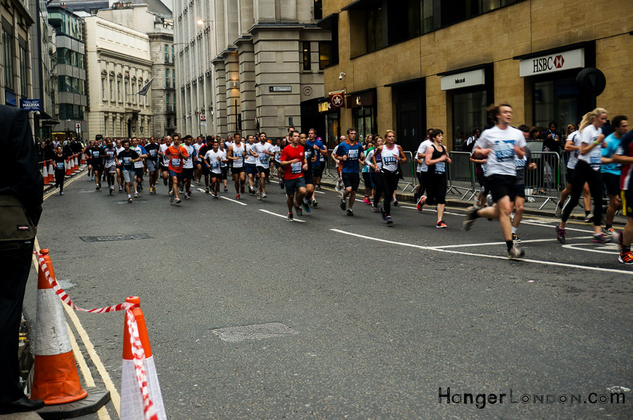 2019 London Marathomn through the streets of the Capital