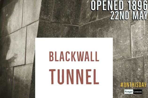 blackwall tunnel opened 1896