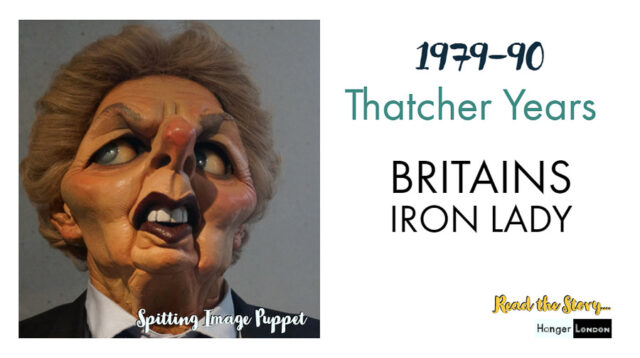 Thatcher Years dominated an era 79-90