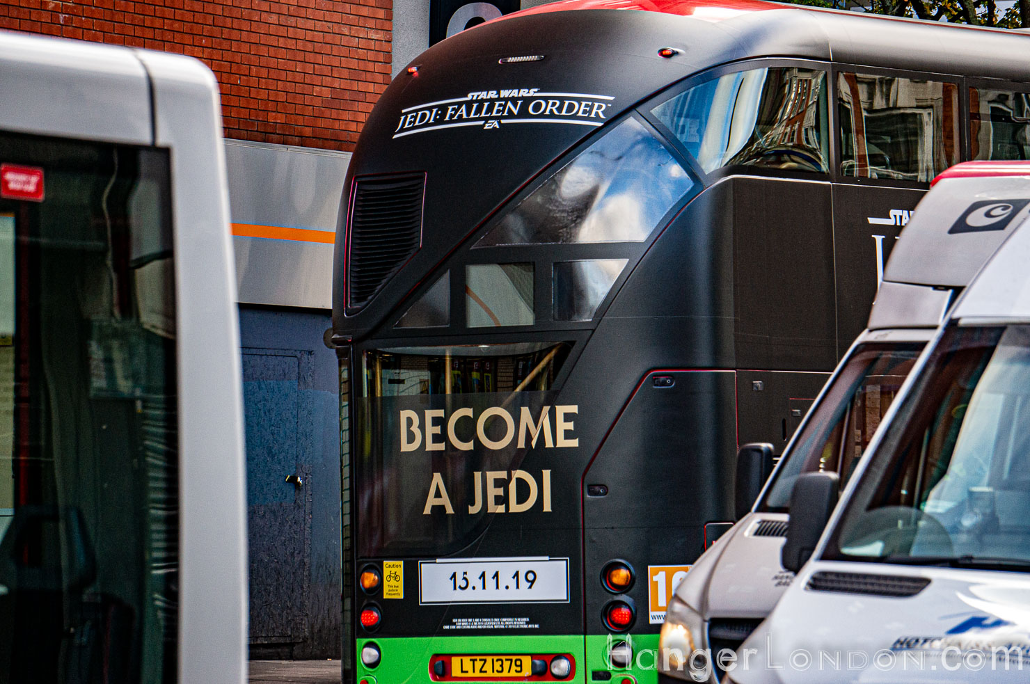 Become a Jedi on the Bus