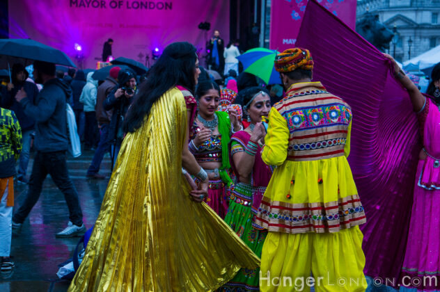 Diwali2019 London amazing costumes