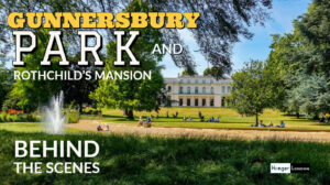 Gunnersbury park with a hidden rothchilds mansion
