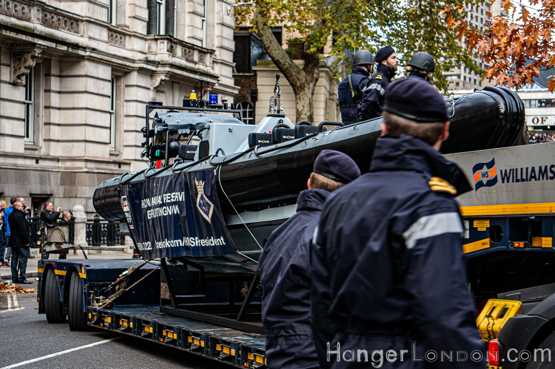 Fast Patrol Boat on Trailer Lord Mayors Show