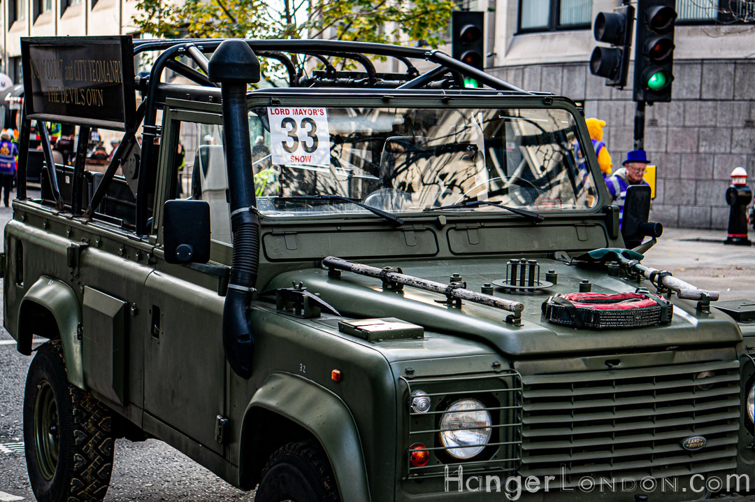 Lord Mayor's Show Land Rover
