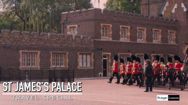 St James's Palace the most senior palace in Britain