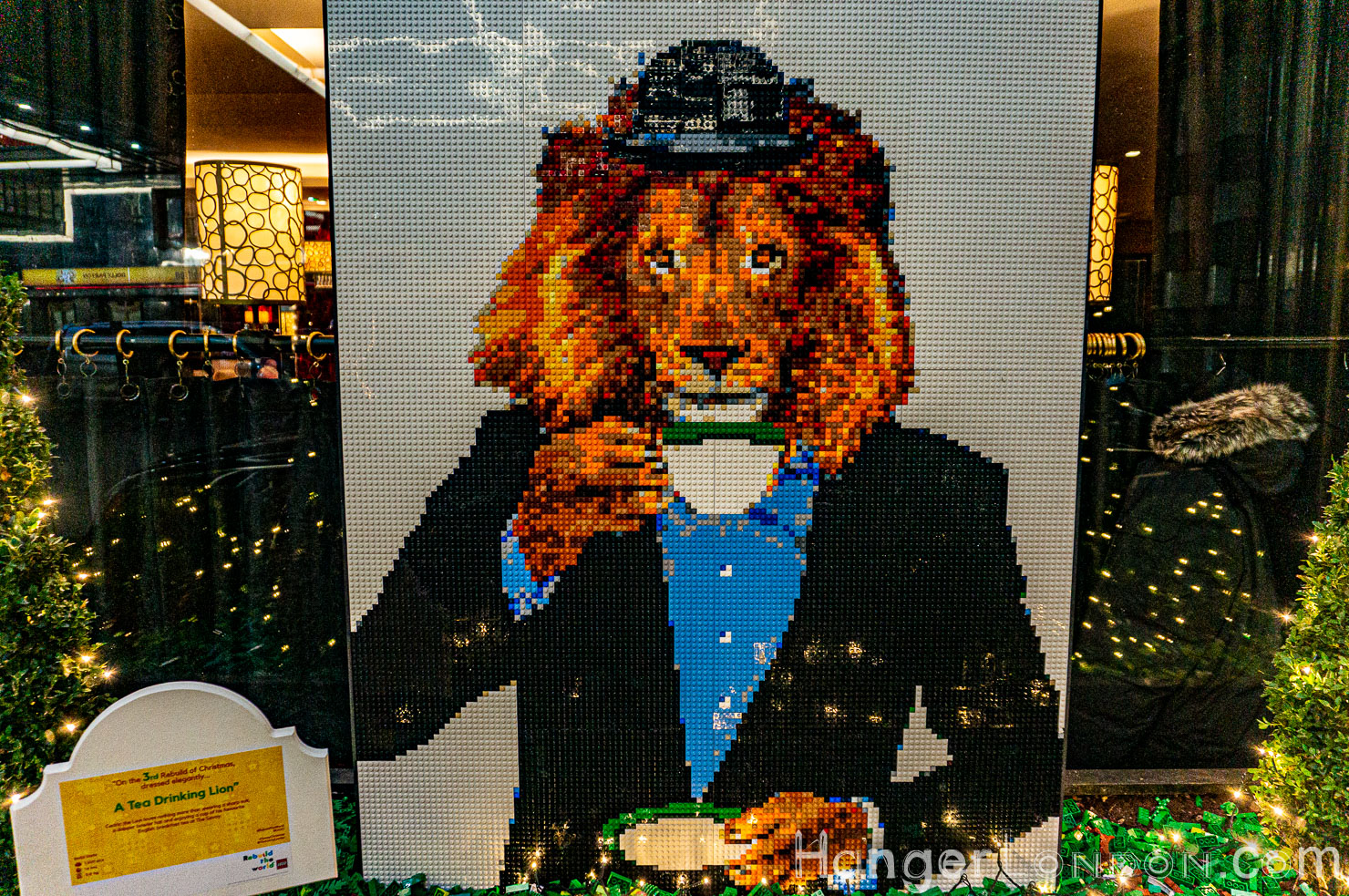 The Savoy Lego Lion