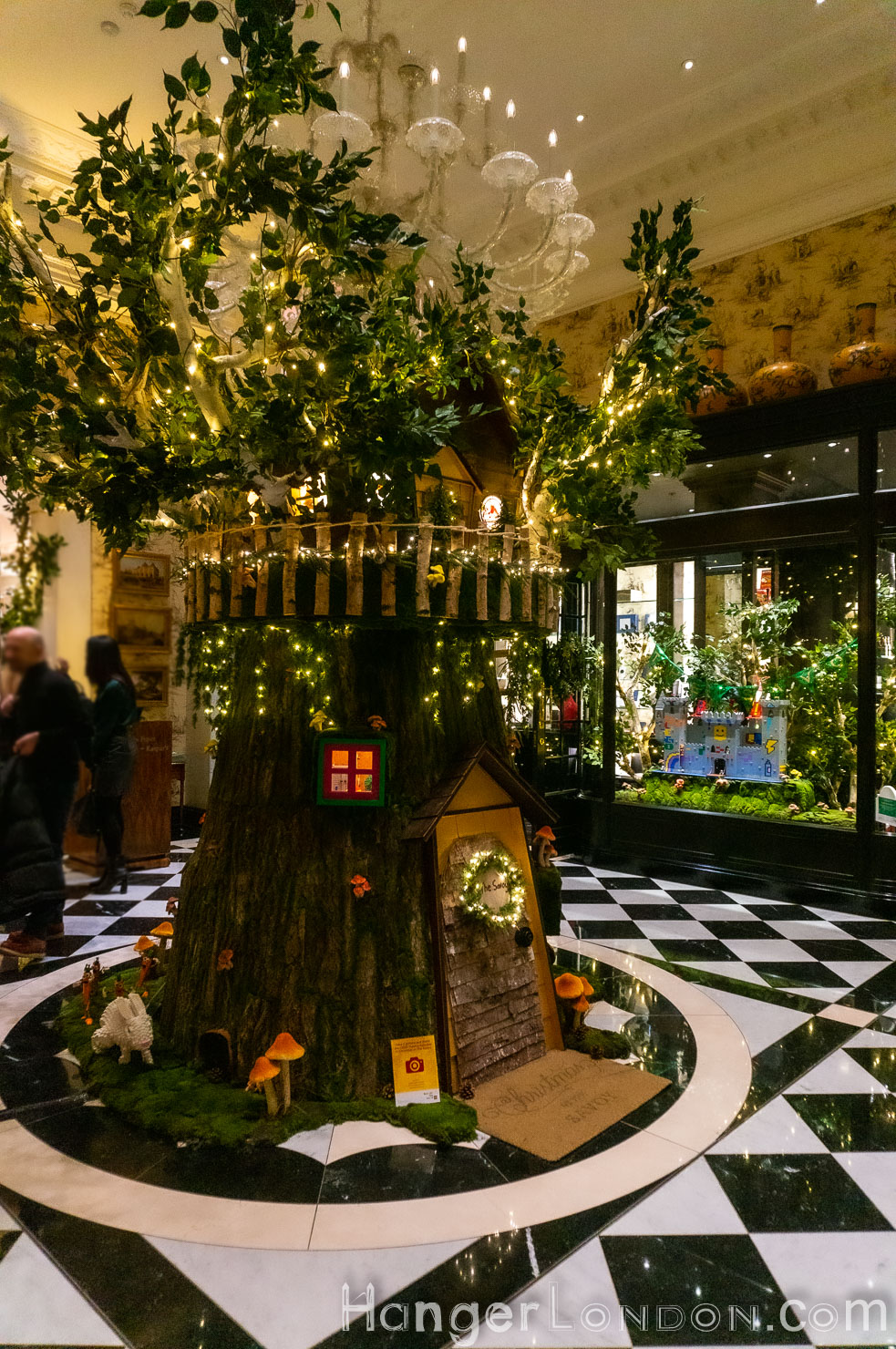 Lego treehouse The Savoy